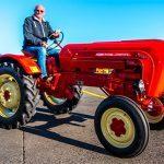 Porsche Diesel tractor. Photo by: Sydney Motorsport Park